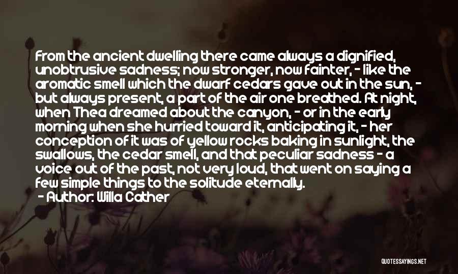 Dwarf Quotes By Willa Cather