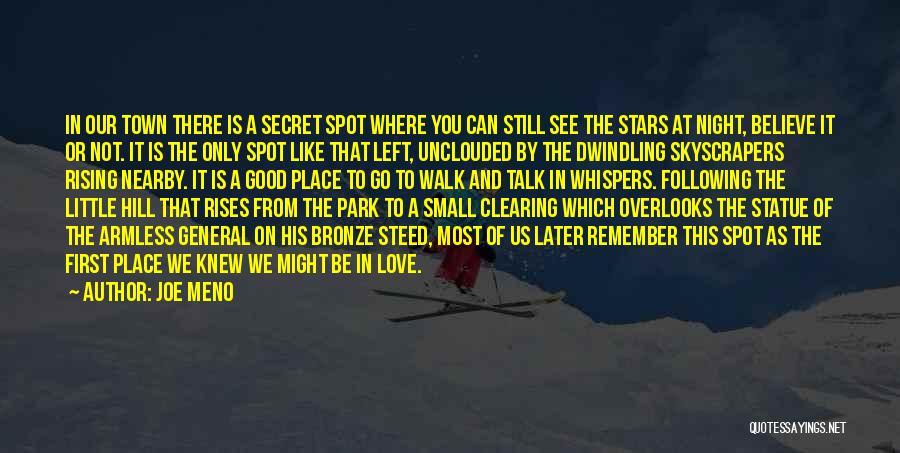 Dwindling Love Quotes By Joe Meno