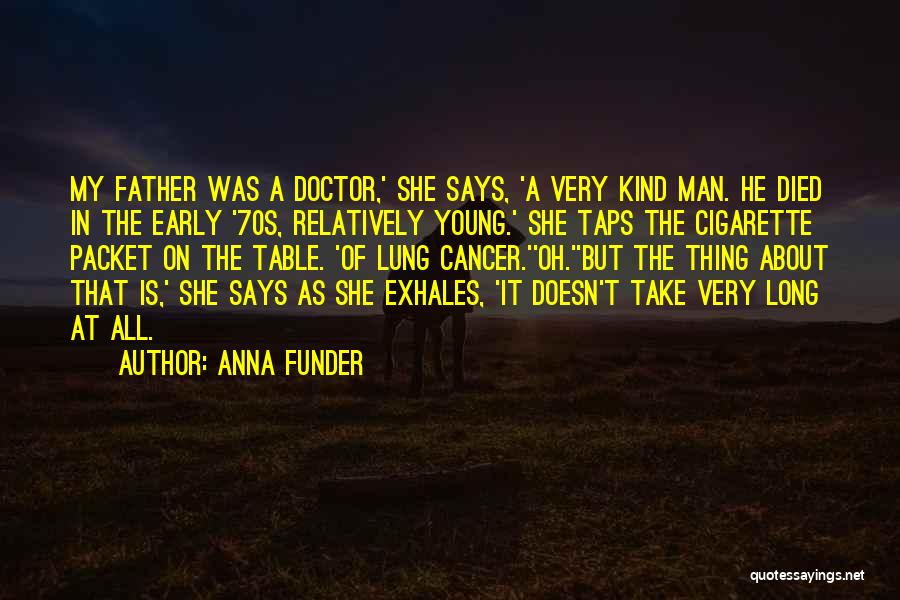 Dying A Slow Death Quotes By Anna Funder