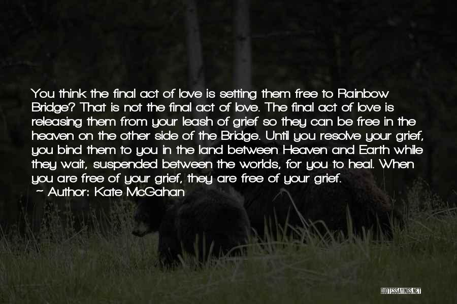 Dying And Letting Go Quotes By Kate McGahan