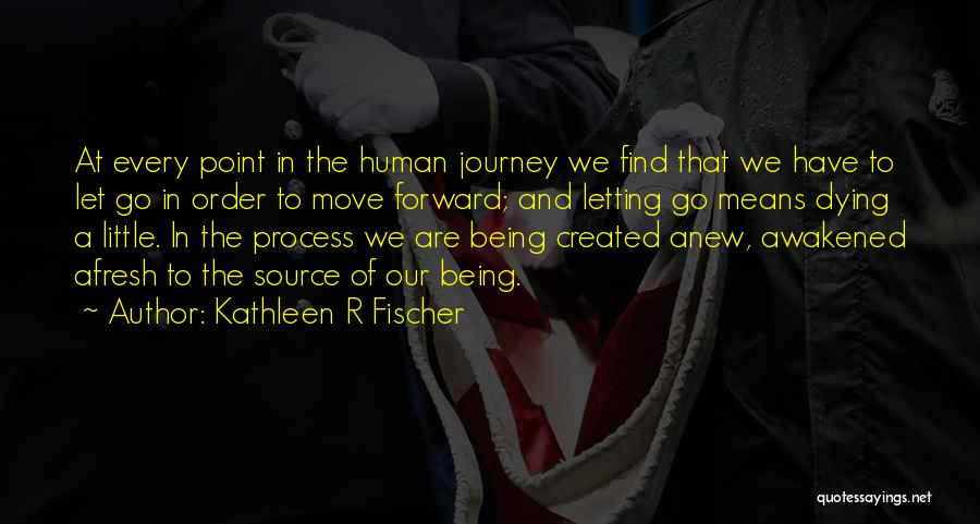 Dying And Letting Go Quotes By Kathleen R Fischer