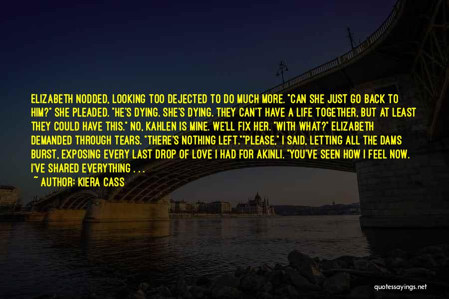 Dying And Letting Go Quotes By Kiera Cass