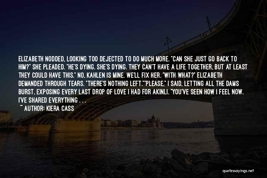 Dying For Nothing Quotes By Kiera Cass
