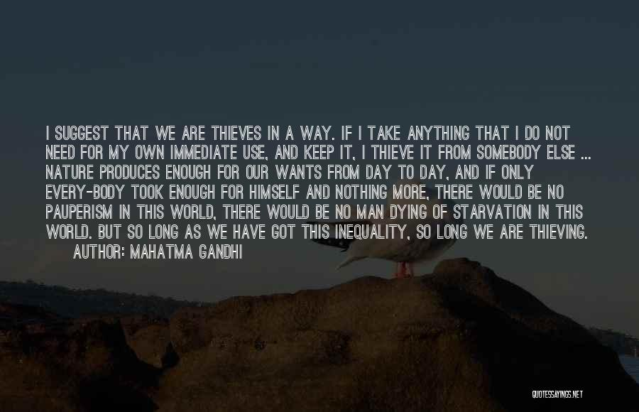 Dying For Nothing Quotes By Mahatma Gandhi