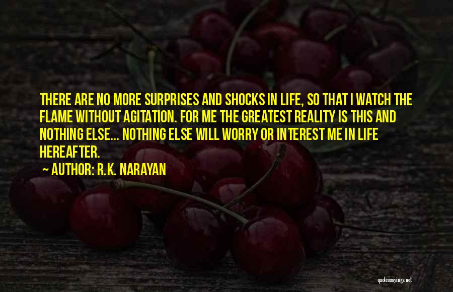 Dying For Nothing Quotes By R.K. Narayan