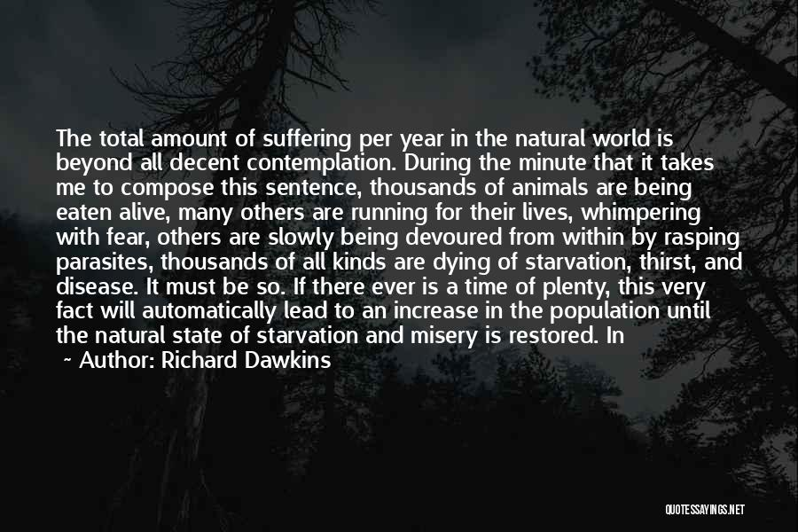 Dying For Nothing Quotes By Richard Dawkins