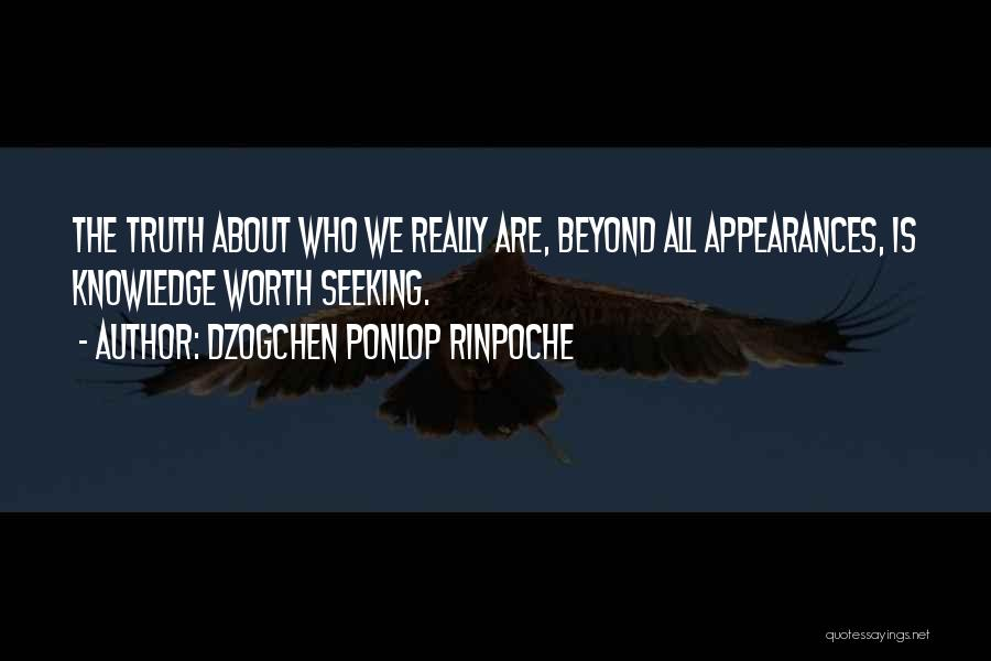 Dzogchen Ponlop Rinpoche Quotes 1376897
