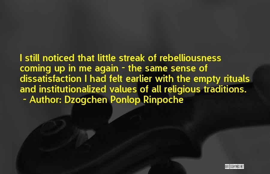 Dzogchen Ponlop Rinpoche Quotes 808904