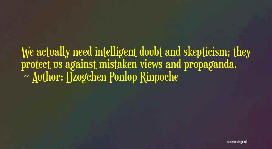 Dzogchen Ponlop Rinpoche Quotes 916634