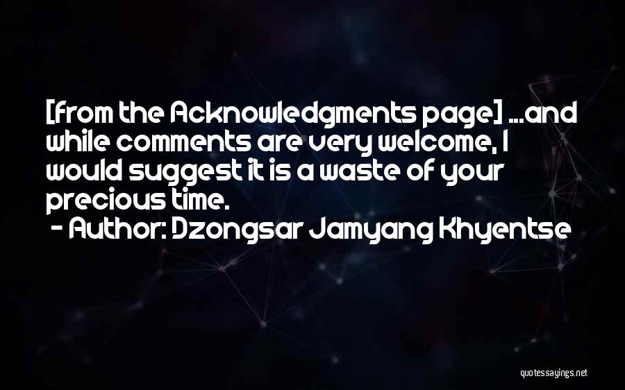 Dzongsar Jamyang Khyentse Quotes 1439144