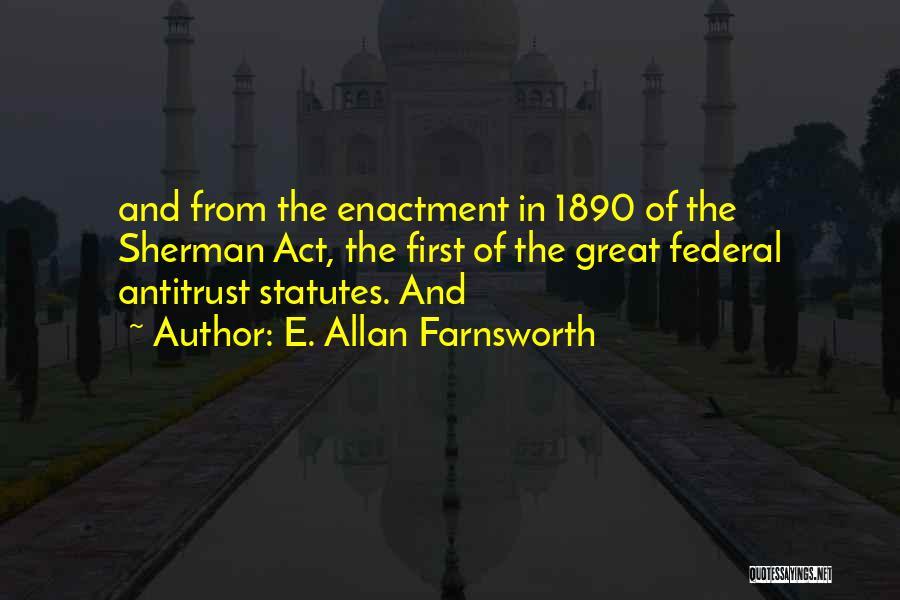 E. Allan Farnsworth Quotes 1719753