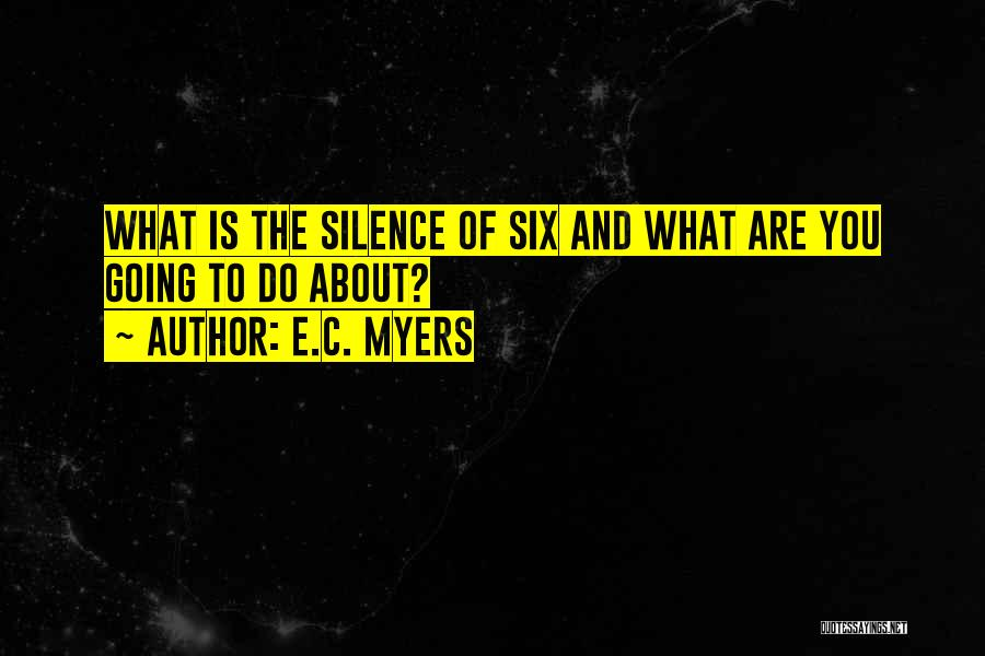 E.C. Myers Quotes 1926324