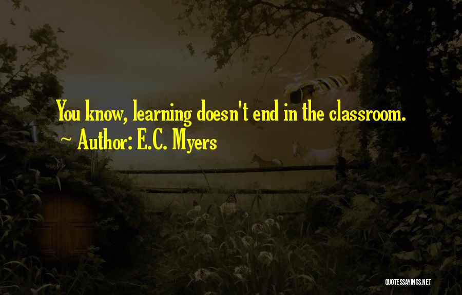 E.C. Myers Quotes 255118
