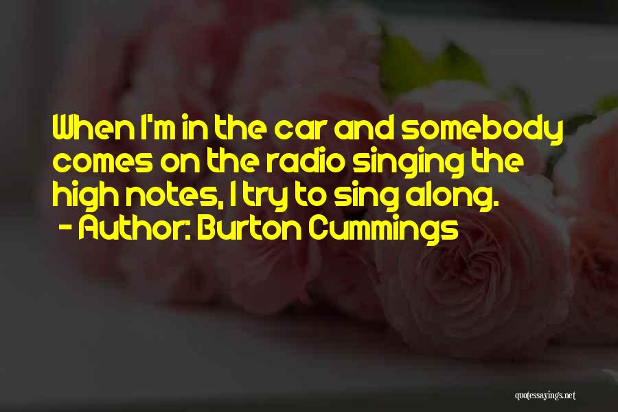 E E Cummings Best Quotes By Burton Cummings