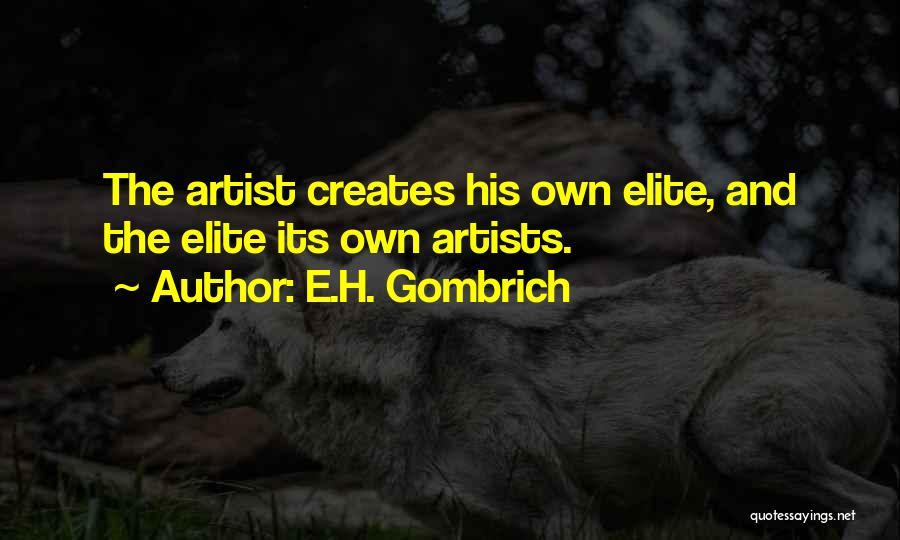 E.H. Gombrich Quotes 1142704