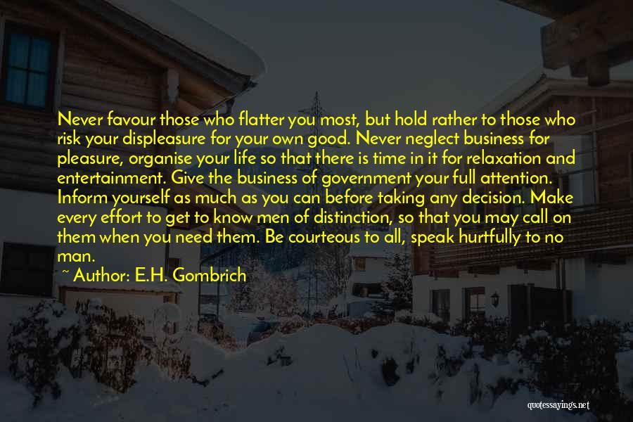 E.H. Gombrich Quotes 1413816