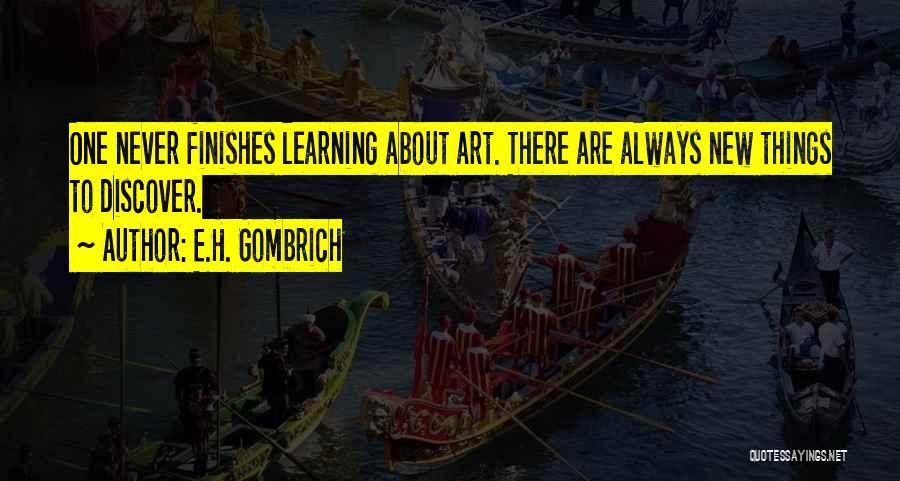 E.H. Gombrich Quotes 156398