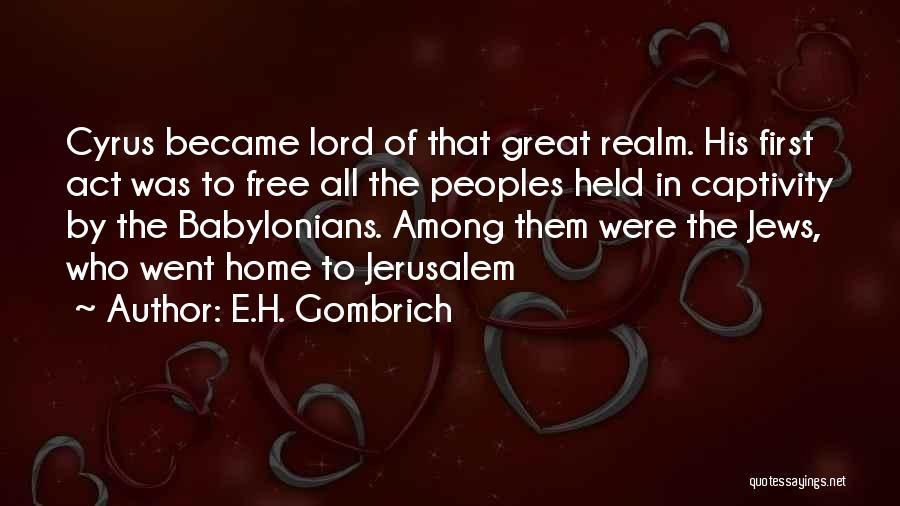 E.H. Gombrich Quotes 2056741