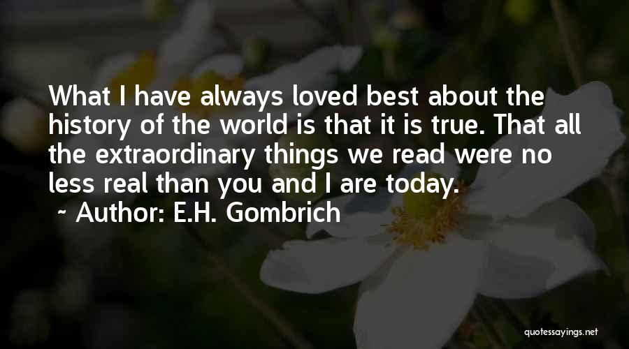 E.H. Gombrich Quotes 363385