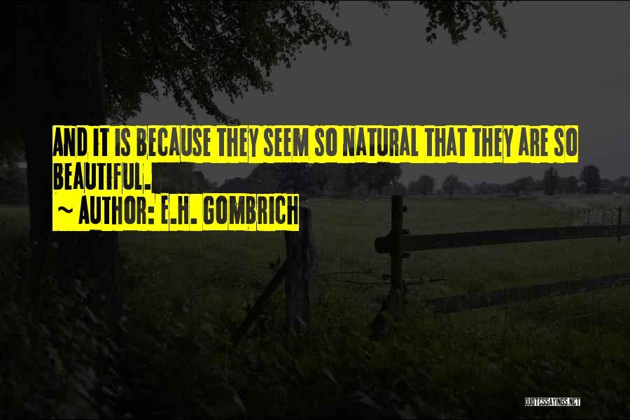 E.H. Gombrich Quotes 772268