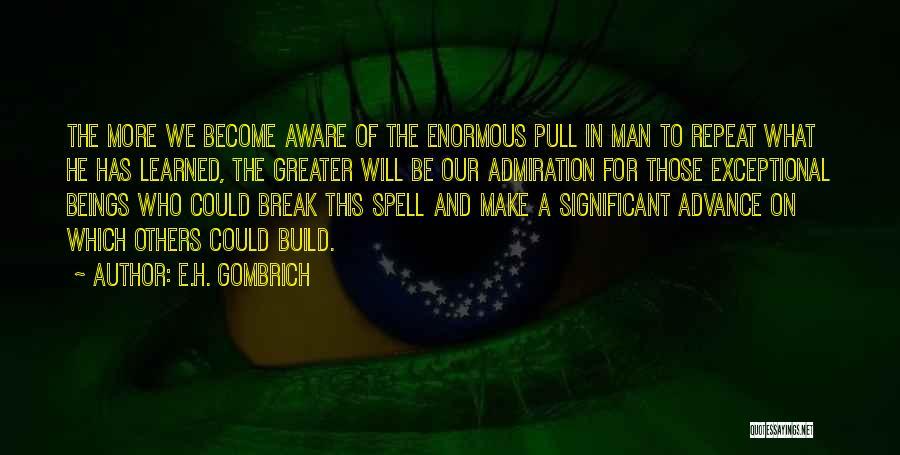 E.H. Gombrich Quotes 807876
