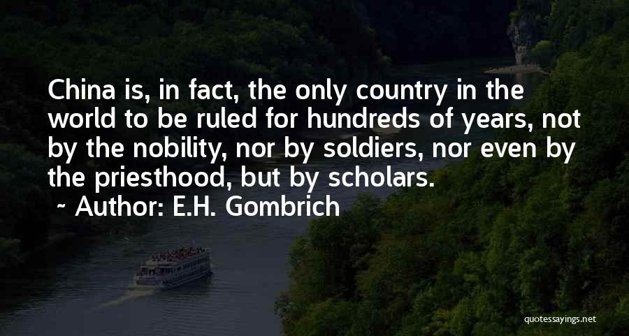 E.H. Gombrich Quotes 972535