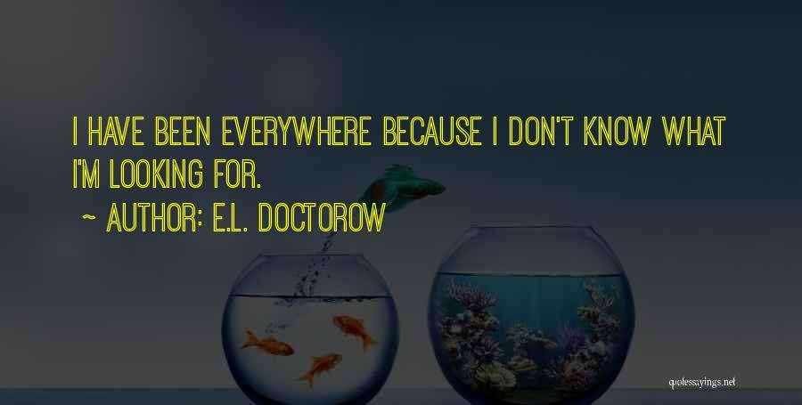 E-marketing Quotes By E.L. Doctorow