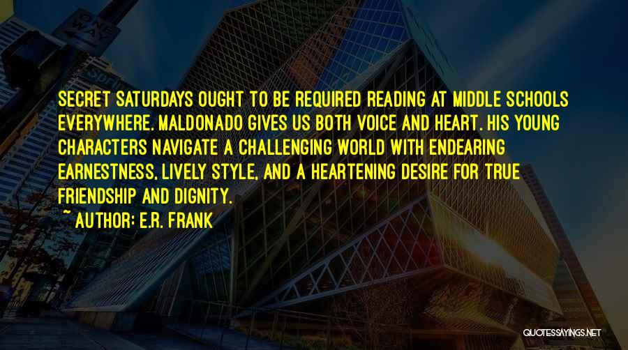 E-marketing Quotes By E.R. Frank