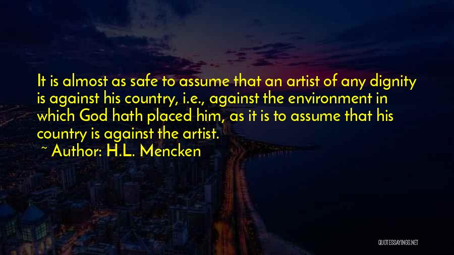 E-marketing Quotes By H.L. Mencken
