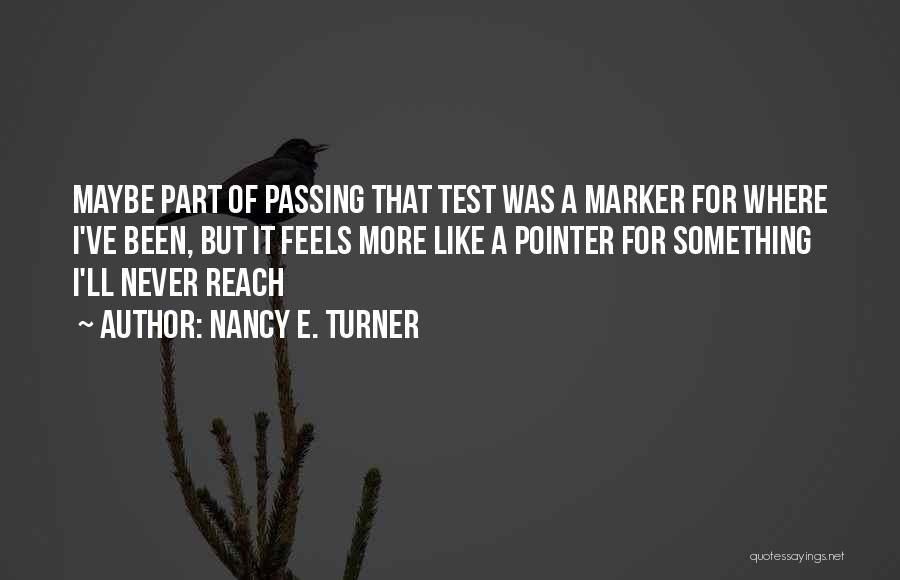 E-marketing Quotes By Nancy E. Turner