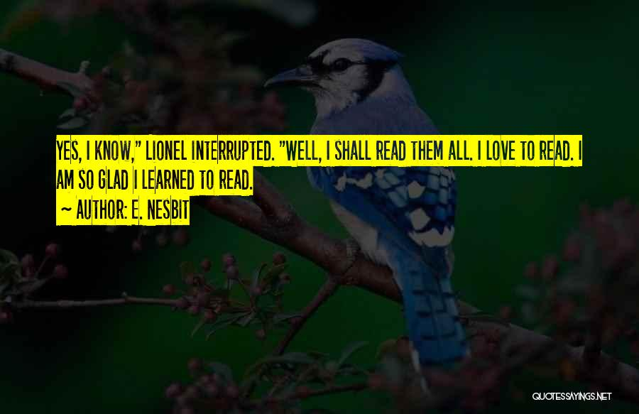 E. Nesbit Quotes 1080004