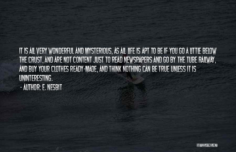 E. Nesbit Quotes 1566359