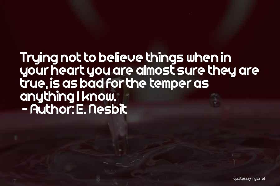 E. Nesbit Quotes 1711035