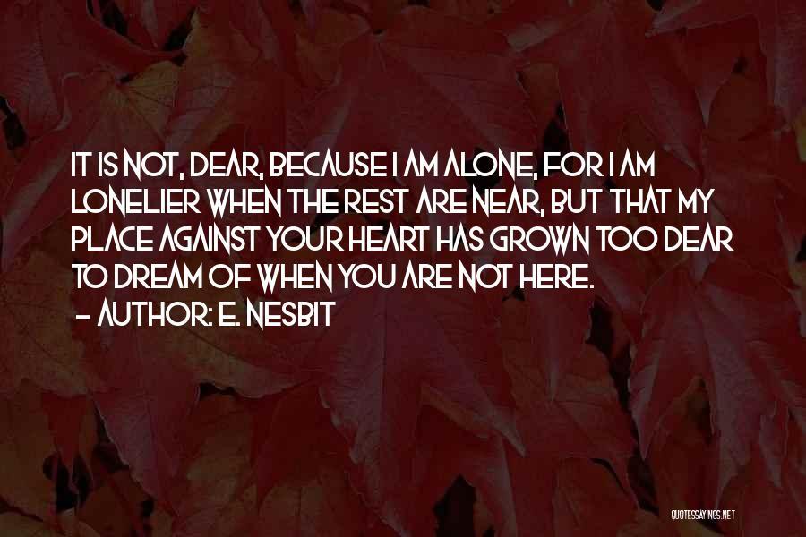 E. Nesbit Quotes 279795