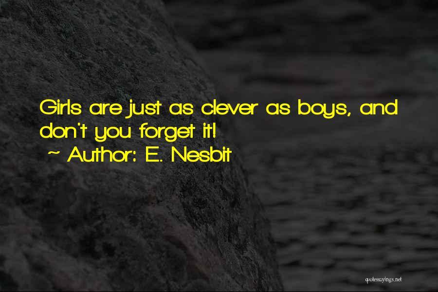 E. Nesbit Quotes 425200