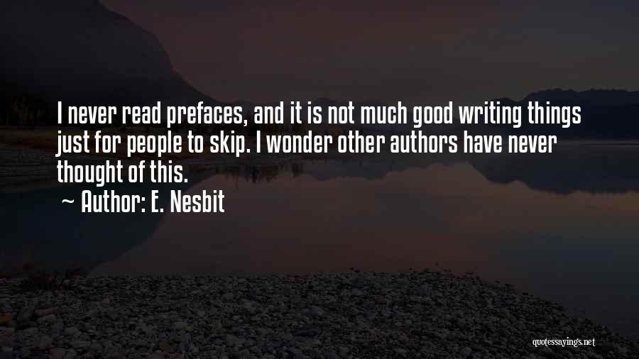 E. Nesbit Quotes 481733