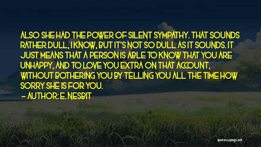 E. Nesbit Quotes 652566