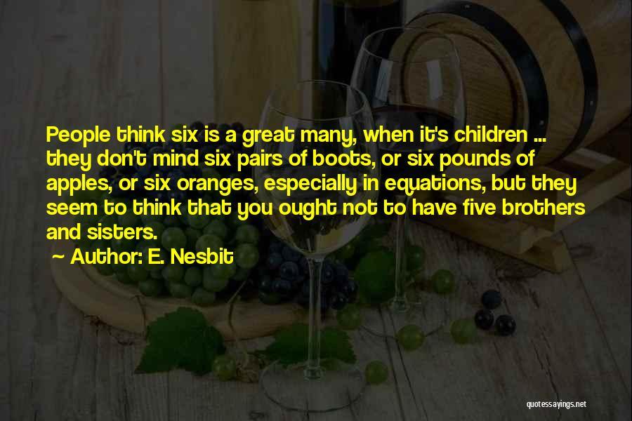 E. Nesbit Quotes 776658