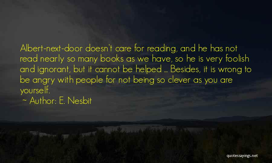 E. Nesbit Quotes 943324