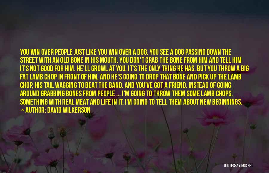 E Street Band Quotes By David Wilkerson