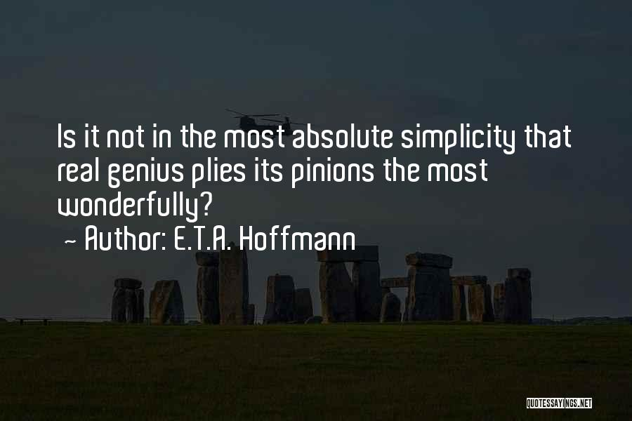 E.T.A. Hoffmann Quotes 534382