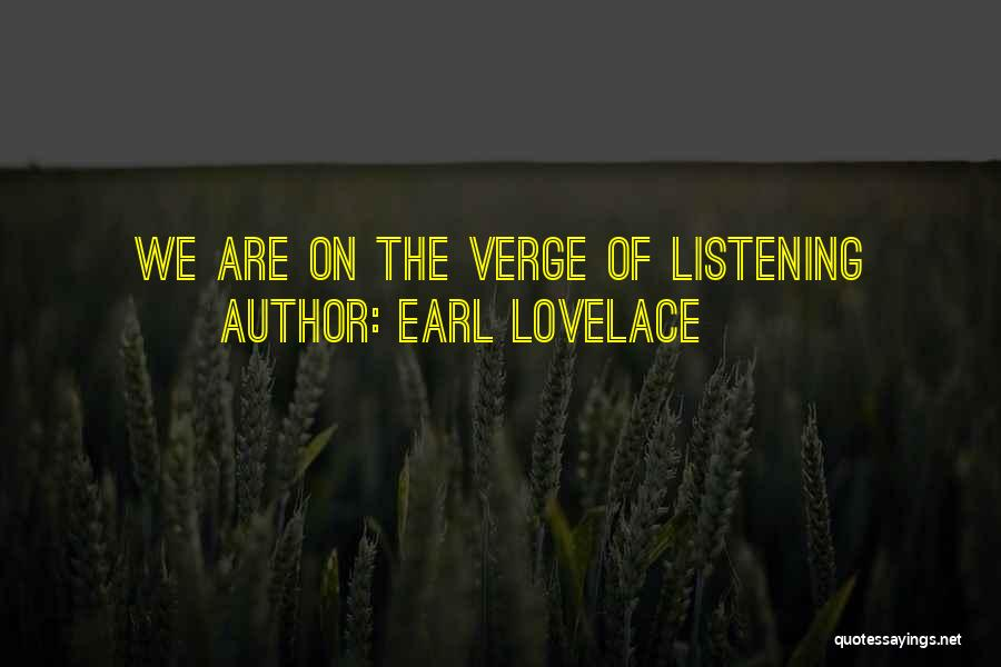 Earl Lovelace Quotes 1847422