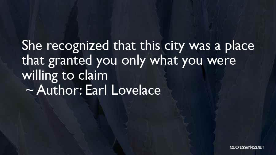 Earl Lovelace Quotes 954855