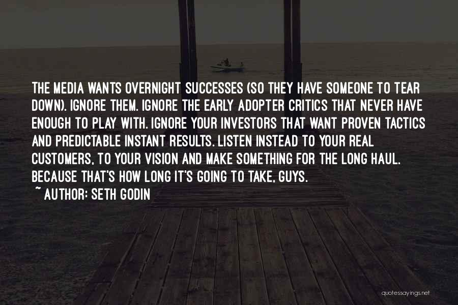 Early Adopter Quotes By Seth Godin