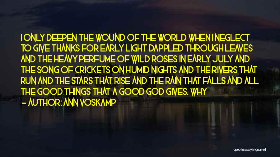 Early To Rise Quotes By Ann Voskamp