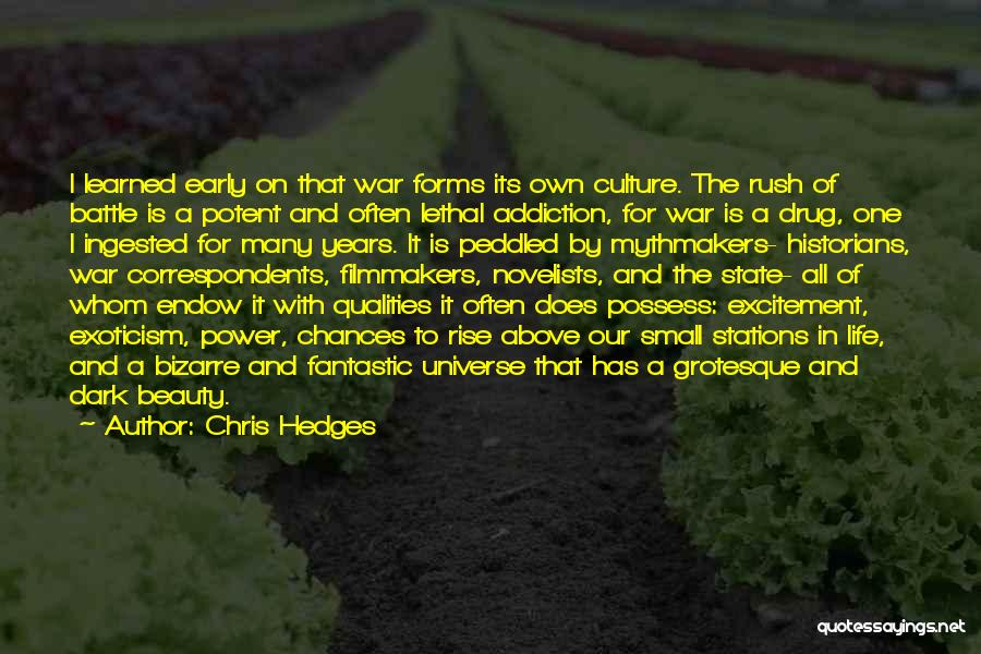 Early To Rise Quotes By Chris Hedges