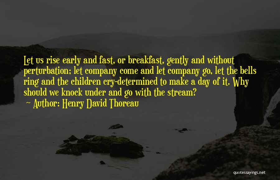 Early To Rise Quotes By Henry David Thoreau