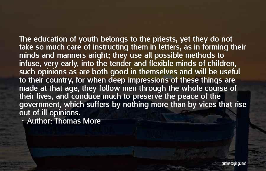 Early To Rise Quotes By Thomas More