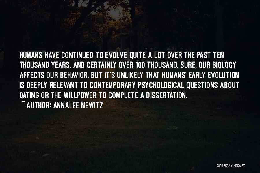 Early Years Quotes By Annalee Newitz