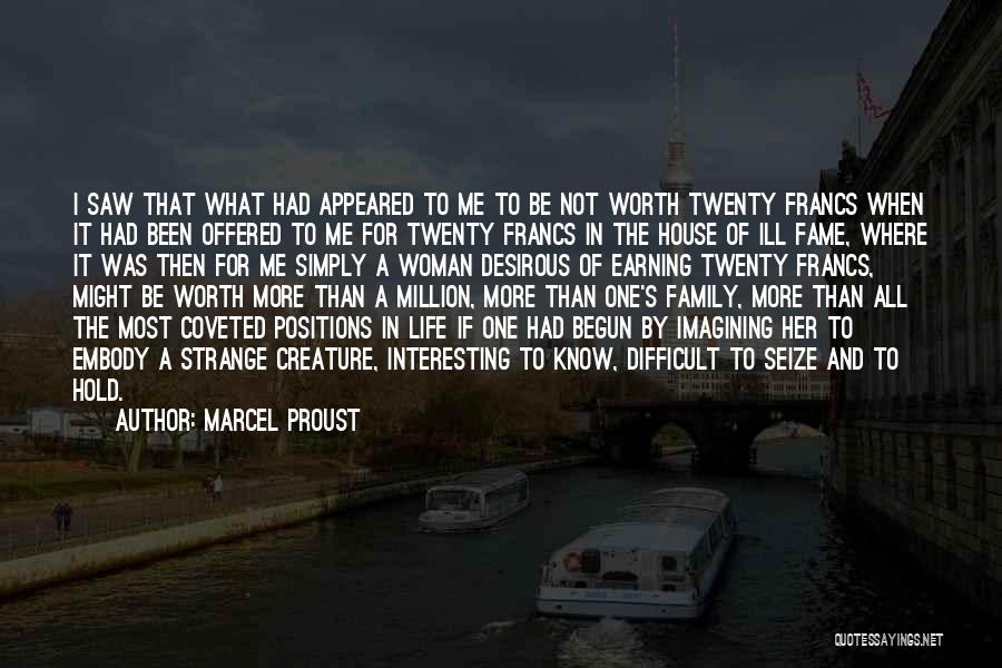 Earning Love Quotes By Marcel Proust